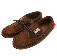 Liverpool Fc Mens Brown Moccasins Moccasin Slippers UK 9/10 or EU 43/44