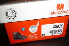D28 Elefanten  Jungen Schuhe gr. 24 M  Halbschuhe Knochenschuhe Lars
