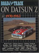 DATSUN 240Z 260Z 280Z 280ZX COUPE & 2+2 ( 1970 - 1983 ) PERIOD ROAD TESTS BOOK