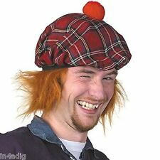 FUN SEE YOU JIMMY HAT - ROYAL STEWART TARTAN TAMMY - TAM O' SHANTER HAT