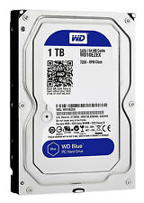 "WD Blue 1TB 7200 RPM WD10EZEX 3.5"" Internal Desktop Hard Drive--"