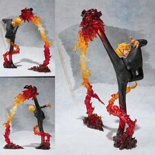 Japanese Anime One Piece Zero Sanji PVC Figure Figurine 17cm no box Attack Ver.