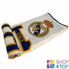 REAL MADRID ES FOOTBALL SOCCER CLUB TEAM FC FLEECE BLANKET COVER QUILT NEW