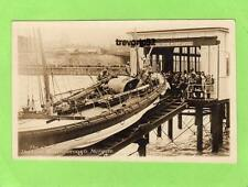 Christening the Lord Southborough Lifeboat Margate unused RP pc 1926 Ref A829