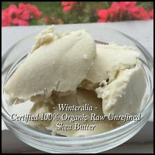 200g - Certified 100% Organic Raw Unrefined Shea Butter - A Grade