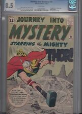 JOURNEY INTO MYSTERY #86 (Nov 1962, Marvel) 4th THOR & 1st full ODIN KEY CGC