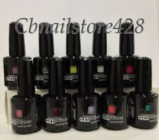 Jessica GELeration Soak Off Nail Gel Polish 0.5oz/15ml- Set of 10 Colors