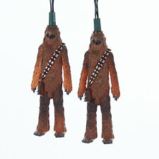 SW9164 Star Wars Chewbacca Chewy Christmas 10/Lights May the Force Be With You
