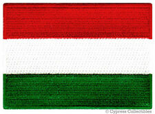 HUNGARY FLAG embroidered iron-on PATCH HUNGARIAN EMBLEM