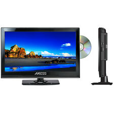 "Axess TVD1801-15 115.6"" LED AC/DC TV w/DVD Player Full HD W/ HDMI, SD card NEW"