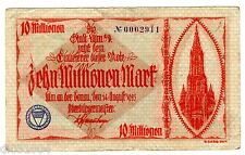 Allemagne GERMANY REICHSBANKNOTE Billet 10 MILLION MARK 1923 NOTGELD BON ETAT