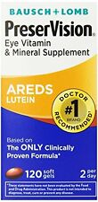 PreserVision Areds Vitamin/Mineral/Lutein Softgels, 120ct Each