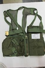 US Military Survival Vest Desert Storm OV-1 Mohawk Tritek Corporation 1991 NOS
