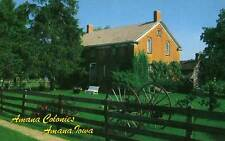 AMANA IA Amana Colonies Museum at Homestead postcard