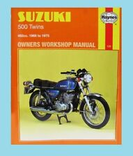 MAN135 Haynes Manual Suzuki 500 Twins T GT T500 & GT500  1968 to 1975