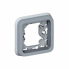 LEGRAND 069681 -SUPPORT PLAQUE - POUR ENCASTRÉ PROG PLEXO COMPOSABLE GRIS 1P