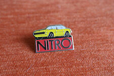14655 PIN'S PINS VOITURE AUTO CAR NITRO MAGAZINE PRESSE FORD