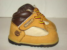 Timberland Wheat Leather Baby Boots - Size 0 - Fits Infant 0-3 Months 10866M
