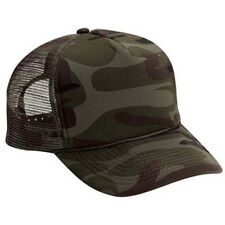 New Camo Trucker Hat Hats Foam Front Mesh Back Snap Adjustable Cap Super Cool!