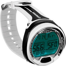 Cressi Leonardo Dive Computer Watch -White / Black