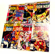 Marvel Comics Classic IRON MAN Comics early 80's job lot, Amazing Condition,