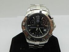 TAG HEUER 2000 PROFESSIONAL S. STEEL CHRONOGRAPH CN1110 Quartz Swiss Watch