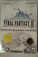 EMPTY BOX FINAL FANTASY XI Square Enix