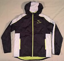 PUMA Trinomic Usain Bolt Hooded Windbreaker Jacket Men's Large