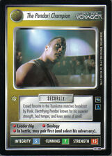 STAR TREK CCG VOYAGER ULTRA RARE RARE CARD 173UR THE PENDARI CHAMPION