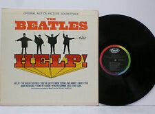 THE BEATLES Help 1965 MONO LP Capitol MAS 2386 ORIG w/ RAINBOW Play Graded NM