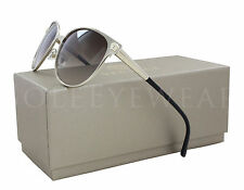 NEW Versace VE2168 1375/13 2168 137513 Rose Gold / Brown Gradient Sunglasses