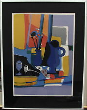 Marcel Mouly 1918-2008, nature morte composition, LITHOGRAPHY 41/150