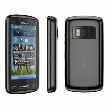 Brand New Nokia C6-01 3G Unlocked Black GPS 3G 5MP Camera Sim Free Smartphone