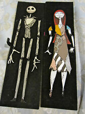 Disney Nightmare Before Christmas Jack Skellington and Sally Jumbo Puzzle pin 2