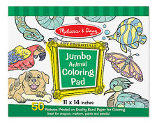 Melissa & Doug Jumbo Coloring Pad - Animals