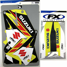 Factory Effex EVO 13 Graphics Forks Suzuki RM125 RM250 01 02 03 04 05 06 07 08