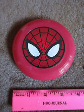 """Marvel Spiderman Mini Flying Disc Frisbee 4"""" Collectible Toy"""