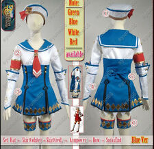 Monster Hunter 3G Blue Cosplay Costume Custom