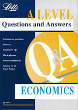 Good, Letts A Level Questions and Answers: Economics, Powell, Ray, Book