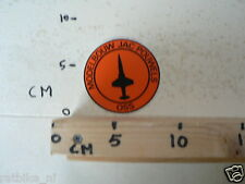 STICKER,DECAL MODELBOUW JAC POUWELS OSS STRAALJAGER AIRPLANE