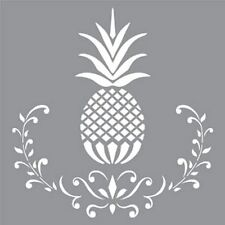 "Americana Decor Stencils-12"" x 12""-Posh Pineapple-Decoart"