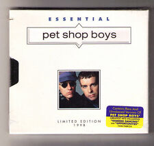 Essential Pet Shop Boys [Limited] new sealed US CD hype sticker die cut digipak