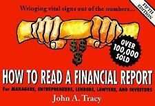 John A Tracy - How To Read A Financial Rep 5e (1999) - Used - Trade Paper (
