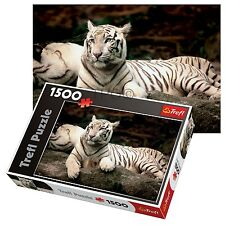Trefl 1500 Piece Adult Large Bengal Tiger India Cat Floor Jigsaw Puzzle NEW