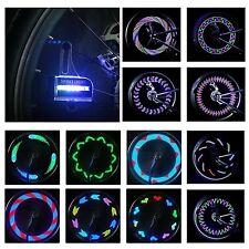DAWAY A02 Bright Bike Wheel Lights - Waterproof 14 LED Spoke Light for Night ...