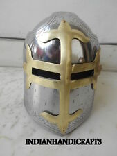 COLLECTIBLES SUGAR LOAF HELMET REPLICA HELMET WITH MASONS BRASS CROSS