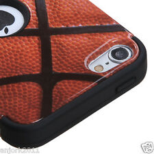 Apple iPod Touch 5 T ARMOR HYBRID CASE SKIN COVER ACCESSORY BASKETBALL