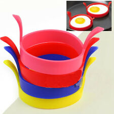 Popular Silicone Egg Fried Mold Oven Poacher Pancake Ring Mould Kitchen Gadget