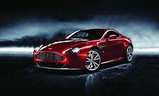 Encadrée Imprimer-Aston Martin Dragon 88 édition limitée (Photo Poster art voiture)