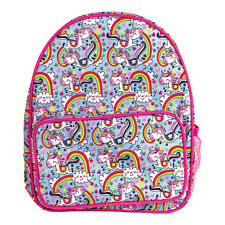 Unicorn & Rainbow Childrens Rucksack - Rachel Ellen Backpack School Bag Travel